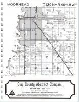 Map Image 011, Clay County 1976
